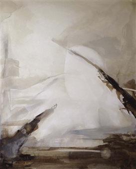 Graciela Garza - Presence of Mind 2 Acrylic on Canvas, Paintings