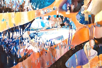 Monika Gloviczki - Nirvana Oil on Canvas, Paintings