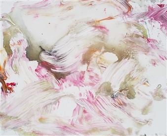 Makoto Oshima - No. 210422 Acrylic on Canvas, Paintings