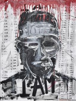 """Bulsby """"Buzz"""" Duncan - Validation Acrylic & Mixed Media on Canvas, Mixed Media"""