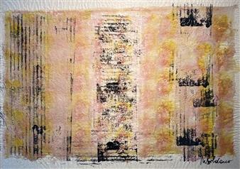 Mariela Soldano - Pasteles Acrylic & Mixed Media, Mixed Media