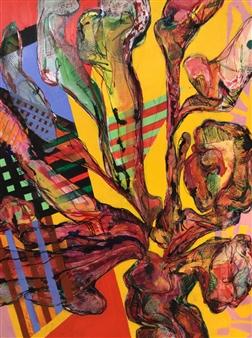 Michael Dolen - Punta Marona Mixed Media on Paper, Mixed Media