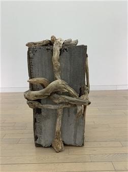 Akemi Fujita - I Tighened It Wood, Sculpture