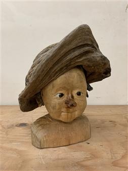 Akemi Fujita - Minotan Wood, Sculpture
