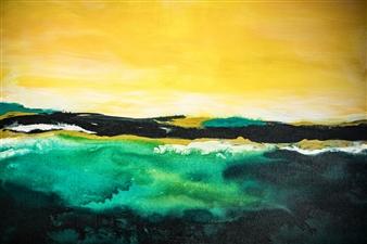 Susan Shade - Drift Acrylic on Canvas, Paintings