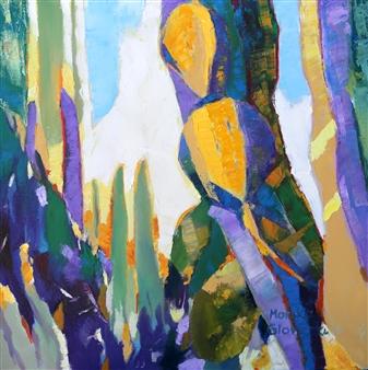 Monika Gloviczki - New Mexico Oil on Canvas, Paintings