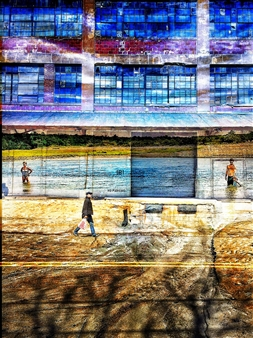 markpizzaArt - Two Worlds Archival Pigment Print on Aluminum, Photography
