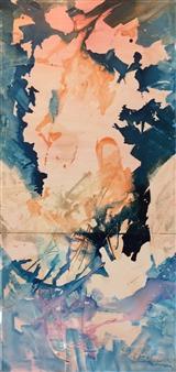 The KonKons - Leda Regained Mixed Media on Canvas, Mixed Media