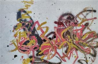 Marek Wasylewicz - Mon 2 Acrylic & Oil on Fiber Board, Paintings