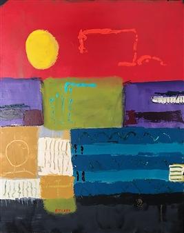 Paul Kittlaus - Untitled #205 Acrylic on Canvas, Paintings