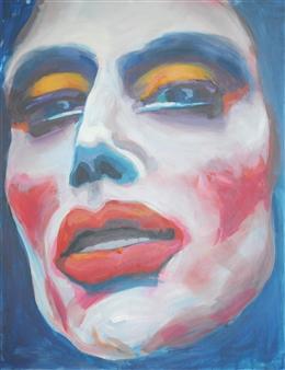 Eric Raffy - Trans 12 Acrylic on Canvas, Paintings