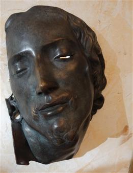 Venceslao Mascia - Volto che ti Impone la Sua Visione Bronze, Sculpture
