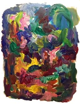 Susan Marx - Awakening Acrylic on Canvas, Paintings