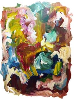 Susan Marx - Winter Acrylic on Canvas, Paintings