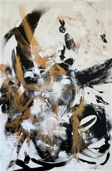 Kate Robinson - Overcame Acrylic on Canvas, Paintings