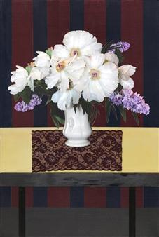 Pamela Bennett Ader - My Matisse II Mixed Media Collage, Mixed Media