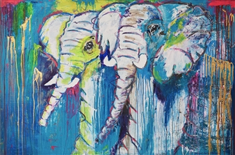 Grażyna Aneta Ochowiak - Belief Acrylic & Mixed Media on Canvas, Mixed Media