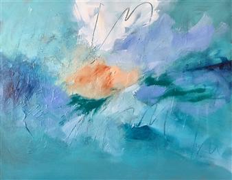 Paul Kittlaus - Untitled #200 Acrylic on Canvas, Paintings