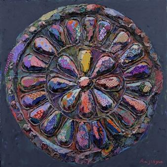 Jihyun Ra - Wadang Acrylic on Canvas, Paintings
