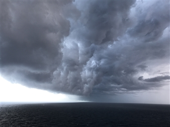 Petra Bernstein - Skimming the Storm. Photograph on Fine Art Paper, Photography