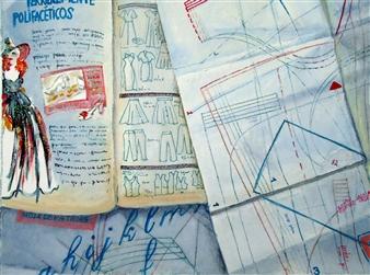 M. Ines Lagos - Burda Colored Pencils on Paper, Drawings