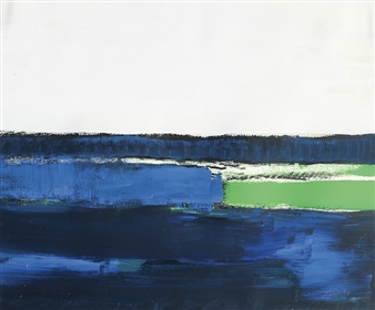 Gerlinde Amei Wöllmer - See Acrylic & Pigment on Paper, Paintings