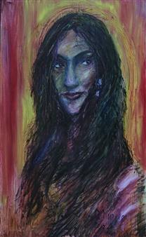 Oleg Kirnos - Gypsy Oil on Canvas, Paintings