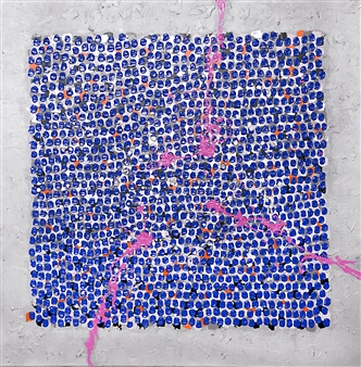 Belle Roth - Singapore Day 12 Acrylic on Canvas, Paintings