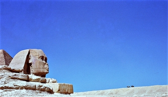 Z. Michael Schmidt - Sphinx, (Egypt) Silver Halide, Photography