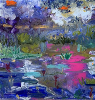 Jodi DeCrenza - Colors of Bermuda Acrylic on Canvas, Paintings