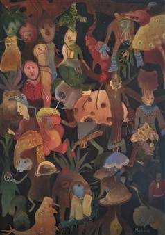 Madina Pavlyuk - Kuban Borsch Oil on Canvas, Paintings
