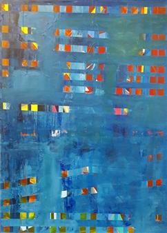 Claudia Mini - Wunscherfüllungsmaschine Acrylic on Canvas, Paintings