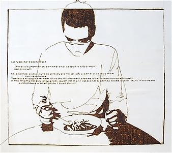Carlo Proietto - La Verità Scomoda Pyrography, Paintings