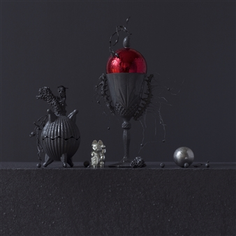 Art Golacki - Still Life in Wet with Jeff's Toys / second variation Archival Pigment Print, Photography
