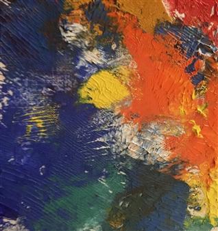 Maribel Matthews - Summer Oil on Cardboard, Paintings