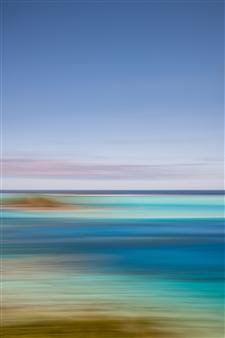 Renzo Sanchez-Silva - Blue Lagoon Digital C-Print on Aluminum, Photography