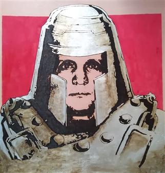 Carlo Proietto - Ram Man Pyrography, Paintings