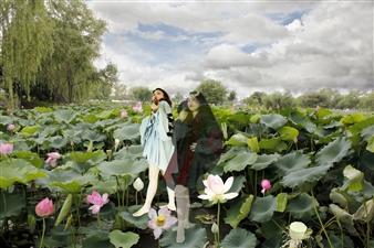 Eunmi Park - Two Angels Archival Pigment Print, Digital Art