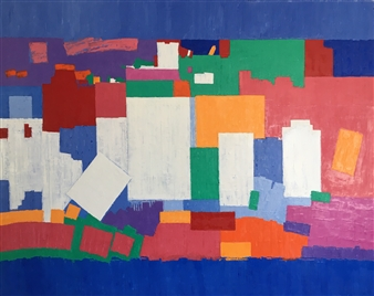Mario España - Revere 1 Oil on Canvas, Paintings