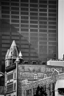 Paris Gray - Old and New Archival Pigment Print, Photography