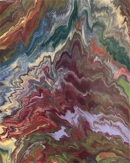 Deeya Mirchandani - Call Me To You Acrylic on Canvas, Paintings