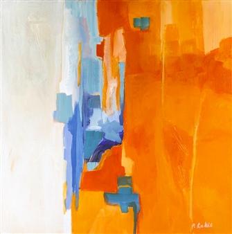 Pauline Rakis - Simplicity Acrylic on Canvas, Paintings