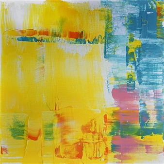 Marianne Durach - 14/17 PB Acrylic on Canvas, Paintings