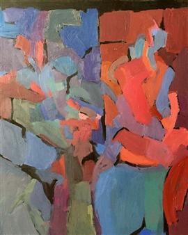 Cristina Prieto Crespi - Parte de Mí Oil on Canvas, Paintings