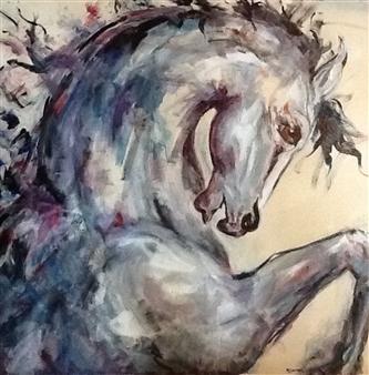Margaret Culver - Esprit Acrylic on Canvas, Paintings