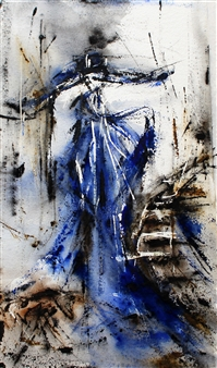 Dana Ingesson - Your Lonely Heart Watercolor on Paper, Paintings