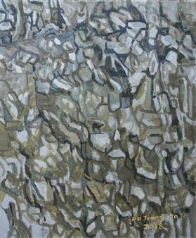 Soilart Jo-DoJoong - Knar 8 Soil on Canvas, Paintings