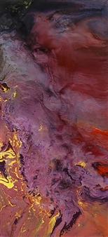 Alla Struchaieva - Rain Man Oil on Canvas, Paintings