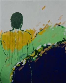 Doofan Kwaghhool - Past Moments Acrylic on Canvas, Paintings