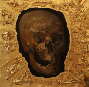 Yuriy Danich - King Midas Acrylic & Oil on Canvas, Paintings